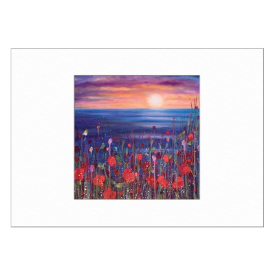 Poppies in the Sunset Limited Edition Print 40x50cm